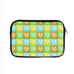 Colorful Happy Easter Theme Pattern Apple Macbook Pro 15  Zipper Case by dflcprints