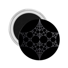 Drawing Of A White Spindle On Black 2 25  Magnets