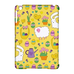 Cute Easter Pattern Apple Ipad Mini Hardshell Case (compatible With Smart Cover) by Valentinaart