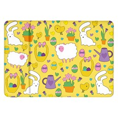 Cute Easter Pattern Samsung Galaxy Tab 8 9  P7300 Flip Case by Valentinaart