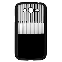 Piano Keys On The Black Background Samsung Galaxy Grand Duos I9082 Case (black)