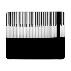 Piano Keys On The Black Background Samsung Galaxy Tab Pro 8 4  Flip Case