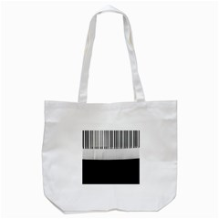 Piano Keys On The Black Background Tote Bag (white)