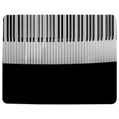 Piano Keys On The Black Background Jigsaw Puzzle Photo Stand (rectangular) by Nexatart