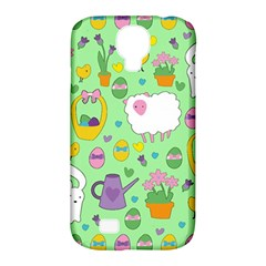 Cute Easter Pattern Samsung Galaxy S4 Classic Hardshell Case (pc+silicone) by Valentinaart
