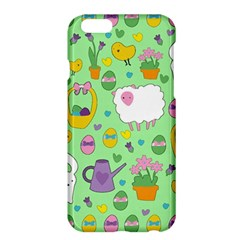 Cute Easter Pattern Apple Iphone 6 Plus/6s Plus Hardshell Case by Valentinaart