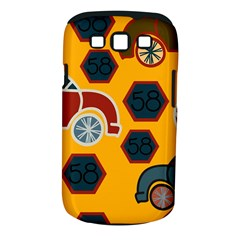 Husbands Cars Autos Pattern On A Yellow Background Samsung Galaxy S Iii Classic Hardshell Case (pc+silicone) by Nexatart
