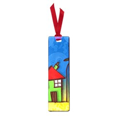 Colorful Illustration Of A Doodle House Small Book Marks by Nexatart