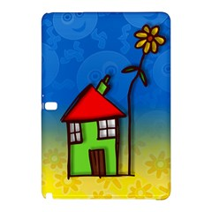 Colorful Illustration Of A Doodle House Samsung Galaxy Tab Pro 10 1 Hardshell Case by Nexatart