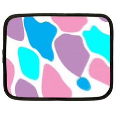 Baby Pink Girl Party Pattern Colorful Background Art Digital Netbook Case (xxl)  by Nexatart