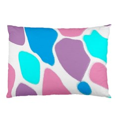 Baby Pink Girl Party Pattern Colorful Background Art Digital Pillow Case (two Sides) by Nexatart