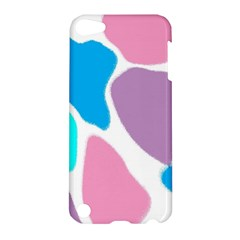 Baby Pink Girl Party Pattern Colorful Background Art Digital Apple Ipod Touch 5 Hardshell Case