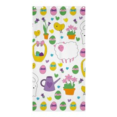 Cute Easter Pattern Shower Curtain 36  X 72  (stall)  by Valentinaart