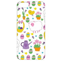 Cute Easter Pattern Apple Iphone 5 Classic Hardshell Case by Valentinaart