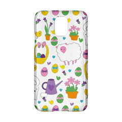 Cute Easter Pattern Samsung Galaxy S5 Hardshell Case  by Valentinaart