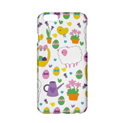 Cute Easter Pattern Apple Iphone 6/6s Hardshell Case by Valentinaart