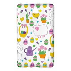 Cute Easter Pattern Samsung Galaxy Tab 4 (8 ) Hardshell Case  by Valentinaart