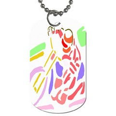 Motorcycle Racing The Slip Motorcycle Dog Tag (one Side)