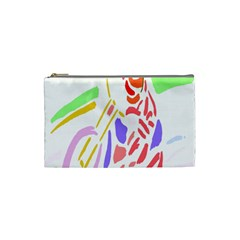 Motorcycle Racing The Slip Motorcycle Cosmetic Bag (small)  by Nexatart