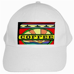 Coffee Tin A Classic Illustration White Cap by Nexatart