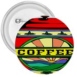 Coffee Tin A Classic Illustration 3  Buttons