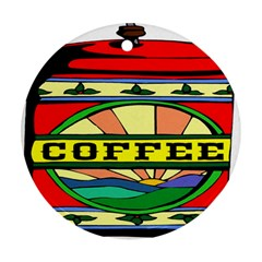 Coffee Tin A Classic Illustration Ornament (round) by Nexatart
