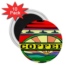 Coffee Tin A Classic Illustration 2 25  Magnets (10 Pack)  by Nexatart