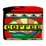 Coffee Tin A Classic Illustration Large Mousepads