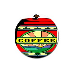 Coffee Tin A Classic Illustration Magnet 3  (round) by Nexatart