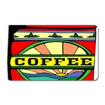 Coffee Tin A Classic Illustration Magnet (Rectangular)