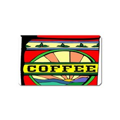 Coffee Tin A Classic Illustration Magnet (name Card) by Nexatart