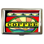 Coffee Tin A Classic Illustration Cigarette Money Cases