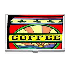 Coffee Tin A Classic Illustration Business Card Holders by Nexatart
