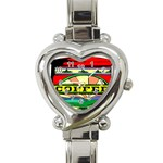 Coffee Tin A Classic Illustration Heart Italian Charm Watch