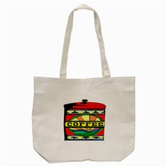 Coffee Tin A Classic Illustration Tote Bag (cream)