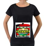 Coffee Tin A Classic Illustration Women s Loose-Fit T-Shirt (Black)