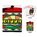 Coffee Tin A Classic Illustration Playing Card