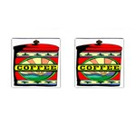 Coffee Tin A Classic Illustration Cufflinks (Square)