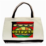 Coffee Tin A Classic Illustration Basic Tote Bag