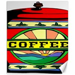 Coffee Tin A Classic Illustration Canvas 8  x 10