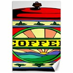 Coffee Tin A Classic Illustration Canvas 12  x 18