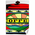 Coffee Tin A Classic Illustration Canvas 20  x 30