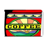 Coffee Tin A Classic Illustration Small Doormat