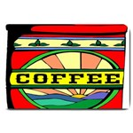 Coffee Tin A Classic Illustration Large Doormat