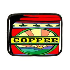 Coffee Tin A Classic Illustration Netbook Case (small)  by Nexatart