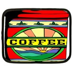 Coffee Tin A Classic Illustration Netbook Case (Large)