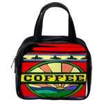 Coffee Tin A Classic Illustration Classic Handbags (One Side)
