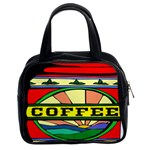 Coffee Tin A Classic Illustration Classic Handbags (2 Sides)