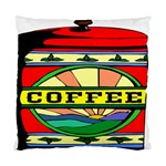 Coffee Tin A Classic Illustration Standard Cushion Case (Two Sides)