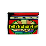 Coffee Tin A Classic Illustration Cosmetic Bag (Medium)
